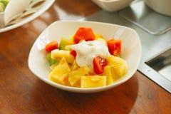 Salade de fruits coréenne Photos libres de droits