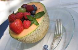 Salade de fruits d'été Photographie stock libre de droits