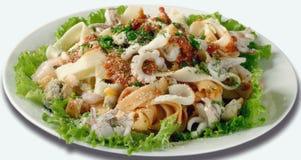 Salade de fruits de mer Image libre de droits