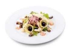 Salade de fruits de mer photos libres de droits