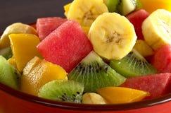 Salade de fruits exotique photos stock