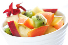 Salade de fruits exotique photographie stock