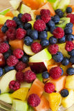Salade de fruits fraîche Photographie stock