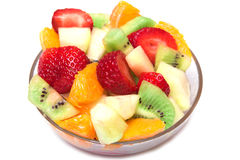 Salade de fruits fraîche Images stock