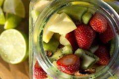Salade de fruits fraîche Photo libre de droits