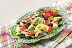 Salade de fruits fraîche de source photo libre de droits