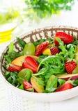 Salade de fruits légère Photographie stock libre de droits