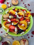 Salade de fruits photographie stock libre de droits