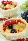 Salade de fruits mélangée fraîche Photographie stock libre de droits