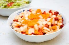 Salade de fruits saine Photographie stock libre de droits