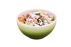Salade de Fusilli image libre de droits