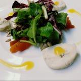 Salade de Gorgonzola Photographie stock libre de droits
