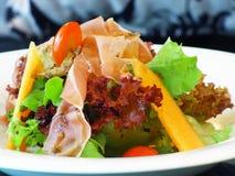 Salade de jambon de Parme Photo stock