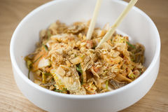 Salade de Kimchi photo stock