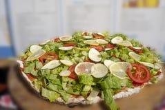 Salade de légume cru Photos stock