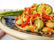 Salade de légume de haricot Image libre de droits
