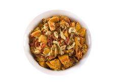 Salade de légume de rôti Image stock