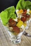 Salade de légume et de pois chiche Photographie stock
