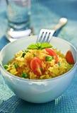 Salade de légume et de riz image libre de droits