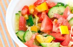 Salade de légume frais, paraboloïdes latéraux Image stock