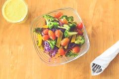 Salade de légume de mélange Image libre de droits