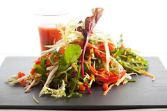 Salade de légumes Photographie stock libre de droits