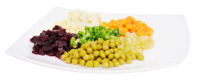 Salade de légumes Photographie stock