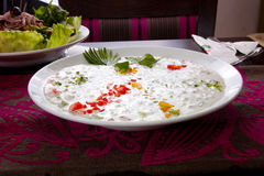 Salade de lait de Ribe image stock