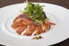 Salade de langoustine Photographie stock