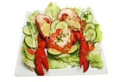 salade de langoustine Photos stock