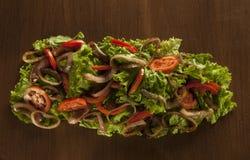 Salade de mélange Photographie stock libre de droits