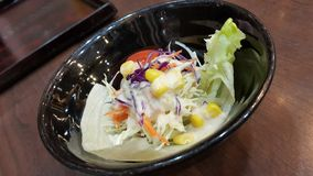 Salade de mélange photographie stock