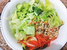 Salade de mélange Images stock