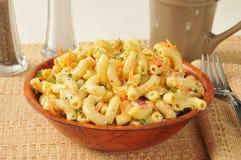 Salade de macaronis Photos libres de droits