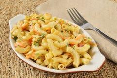 Salade de macaronis image stock