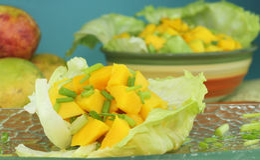 Salade de mangue image libre de droits