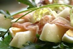 Salade de melon Photographie stock libre de droits
