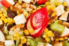 Salade de miel d'Apple Image libre de droits