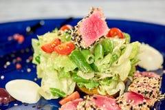 Salade de nisuaz de plan rapproché photographie stock libre de droits