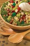 Salade de Noël Photos stock