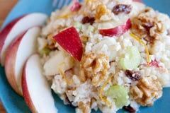 Salade de noix d'Apple Images stock