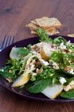Salade de noix de poire image libre de droits