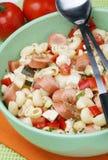 Salade de pâtes Images stock