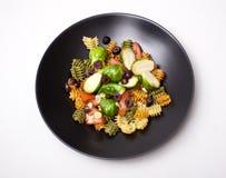 Salade de pâtes photographie stock libre de droits