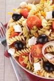 Salade de pâtes Photo libre de droits