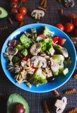 Salade de pâtes image libre de droits