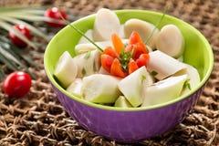 Salade de Palmetto Photos stock