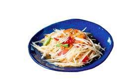 Salade de papaye Photographie stock