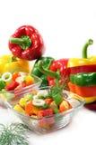 Salade de paprika Photo stock
