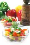 Salade de paprika Photos libres de droits